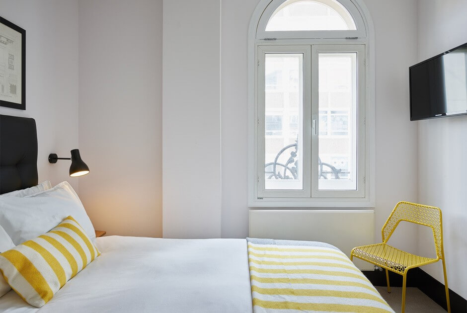 Standard Double Hotel Room Near Oxford Street London My
