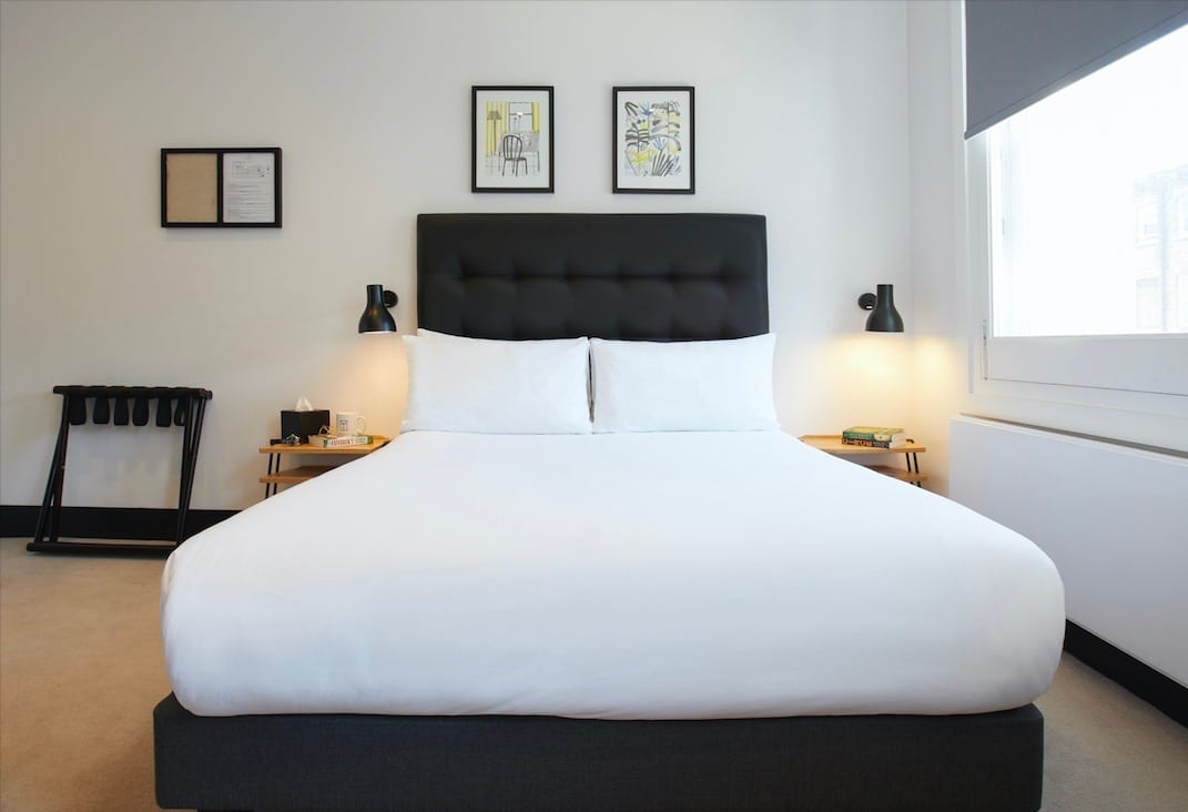 Boutique hotels in Soho London